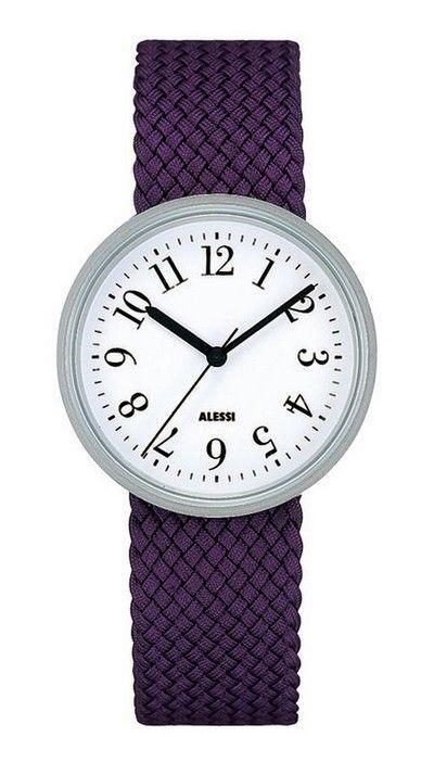 Purple watch by Achille Castiglioni