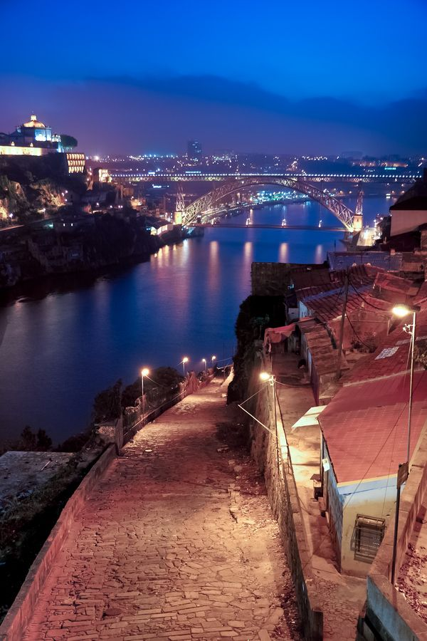 Lights of Porto, Portugal