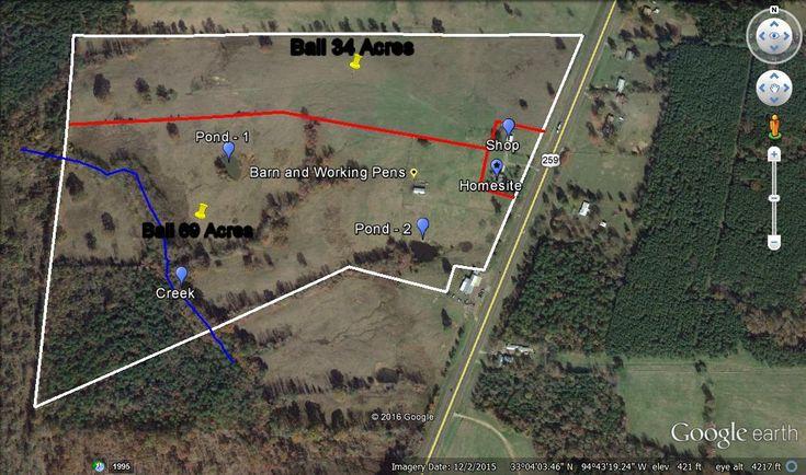 Drummond Ranch Map