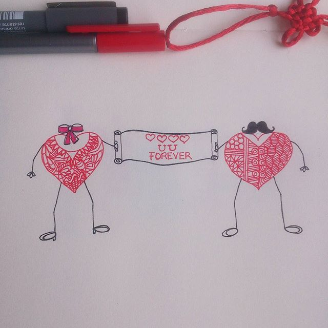 (Valentine's day based illustration/drawing with hand lettering) 'Love you forever' is now available as merchandise for purchase on @postergully @cupick @paintcollar  Gift this to your loved one, on this Valentine's day! #art #artwork #illustration #sketch #drawing #hearts #stickfigure #pattern #love #valentine #creative #conceptart #doodle #artist #artistic #red #loveyou #forsale #design #india #bangalore #chennai #hyderabad #mumbai #delhi #pune #goa #mystaedtler #arts_help #arts_gallery