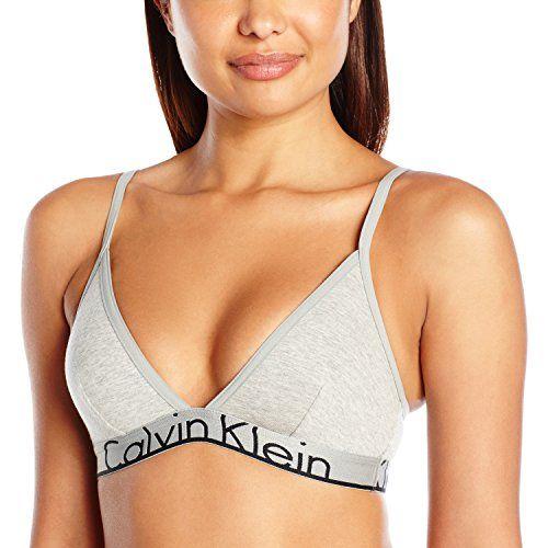 Calvin Klein Women's Id Cotton Large Waistband Triangle Unlined Bra #deals