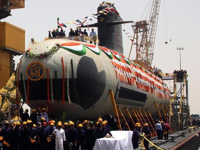 Slideshow : Scorpene class stealth submarine - Kalvari: Indian Navy's first Scorpene class stealth submarine - The Economic Times