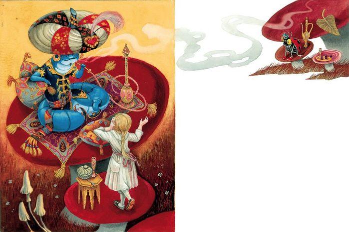 0_f8896_8b4037ef_XXL (700x466, 314Kb) Иллюстратор Максим Митрофанов -«Алиса в стране чудес»