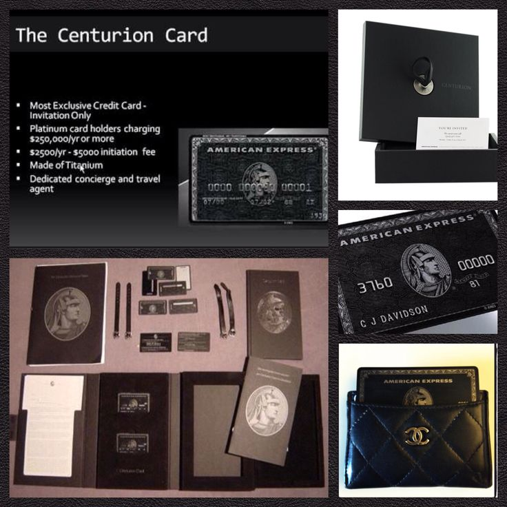 How To Get American Express Centurion Uk