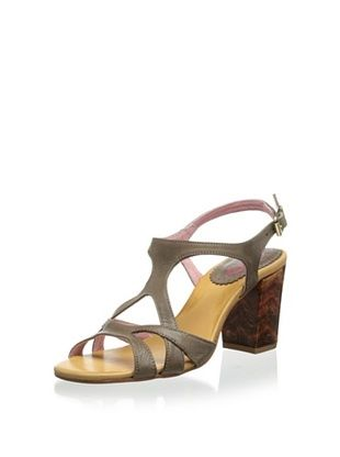 62% OFF Chio Women's Cross Sandal (Taupe)