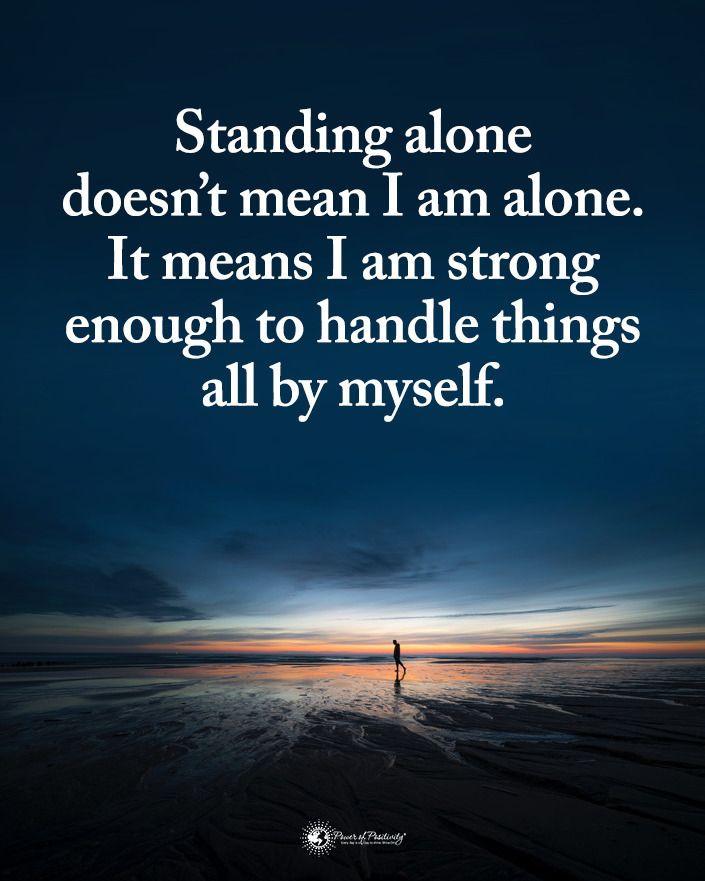 Pin On I Am Alone