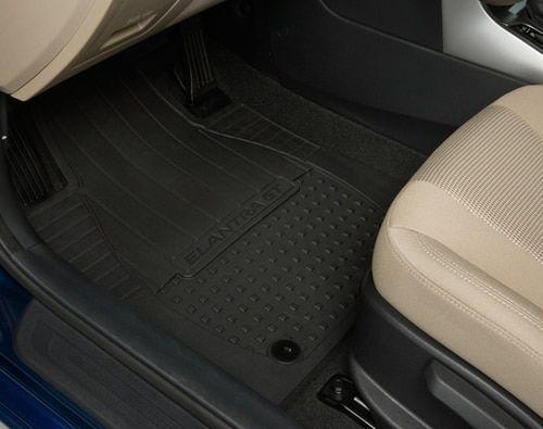 2013 2017 Hyundai Elantra Gt Rubber Floor Mats E046 Hyundai Elantra Rubber Floor Mats Elantra