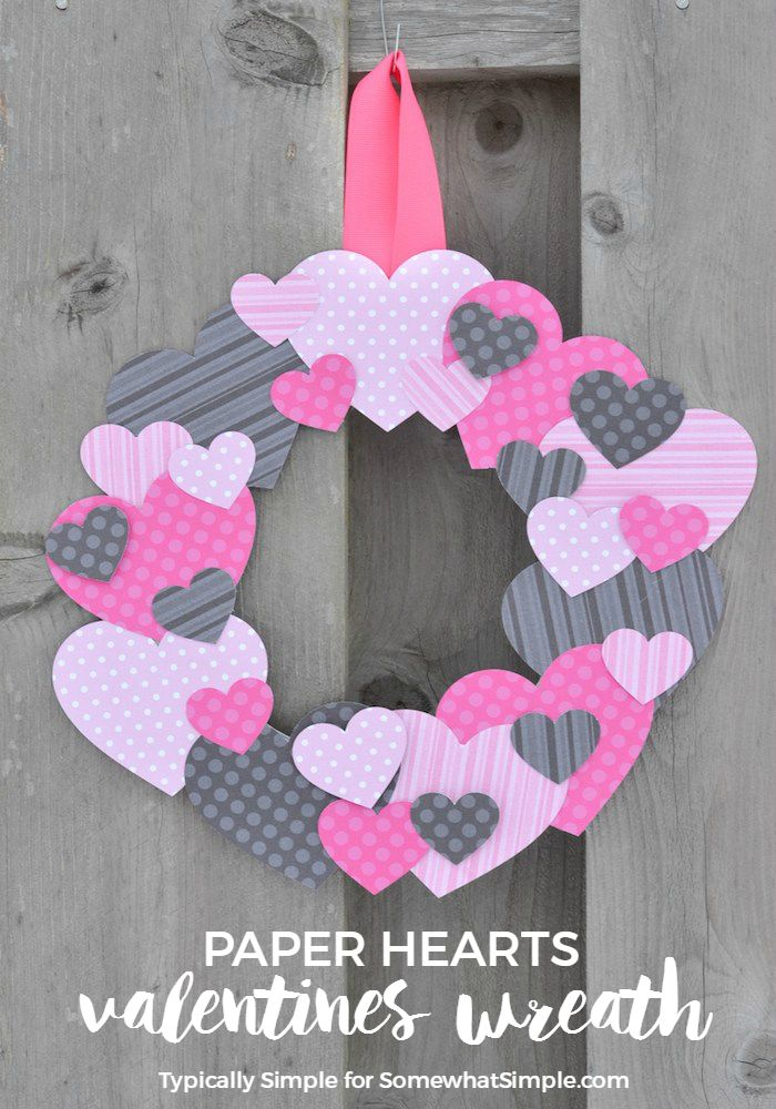 christmas cookies scrapbook paper | ... Day paper for this easy-to-make scrapbook paper hearts wreath