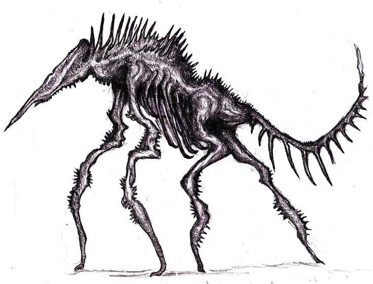 Spiked Monster by KingOvRats.deviantart.com on @DeviantArt