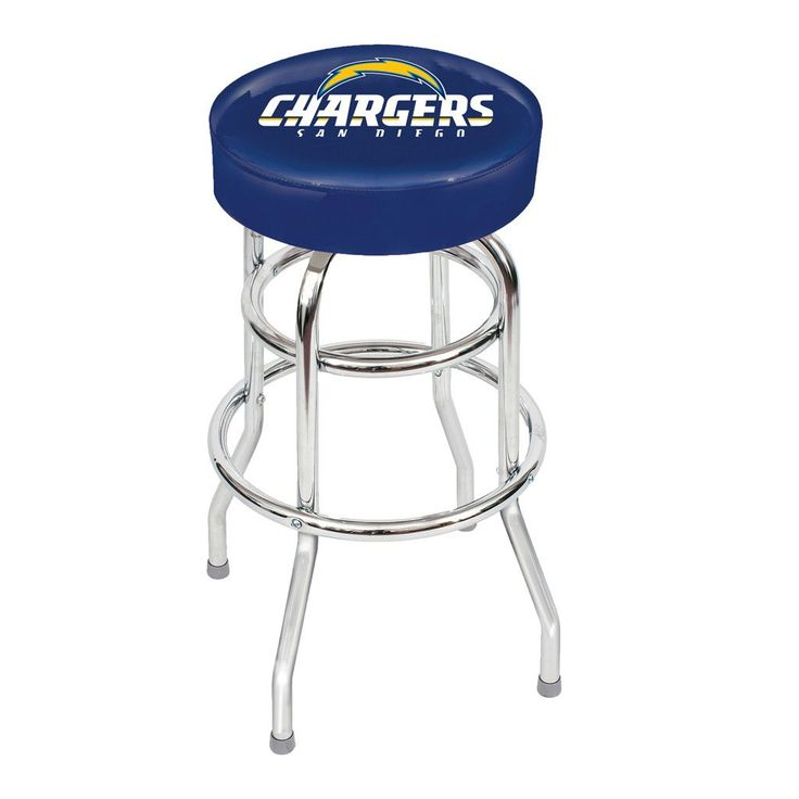 San Diego Chargers Game Room Stool