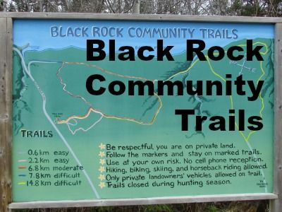 Black Rock Community Trails The Black Rock Community Trails are probably my all-time favourite hiking trails. They totally appeal to my love of well-maintained trails that are signposted and easy to follow. Location Black Rock is on the North mountain above Berwick. From Brooklyn Street, Route 1 or the 221, follow the Black Rock Road …