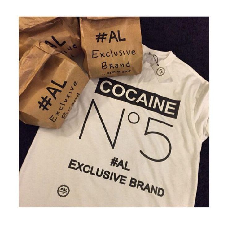 Tshirt cocaine