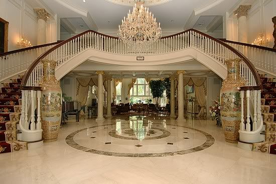 Main Entrance Hall Driveway Front Of Mansion Page 1
