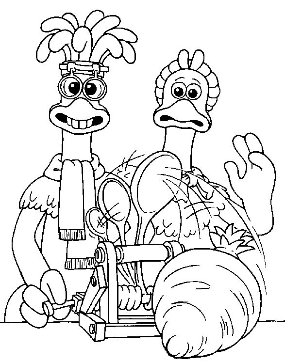17 best chicken run coloring pages images on pinterest for Chicken run coloring pages