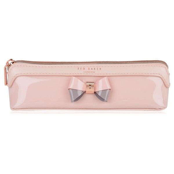 TED BAKER Thao Pencil Case ($29) ❤ liked on Polyvore featuring home, home decor, office accessories and ted baker