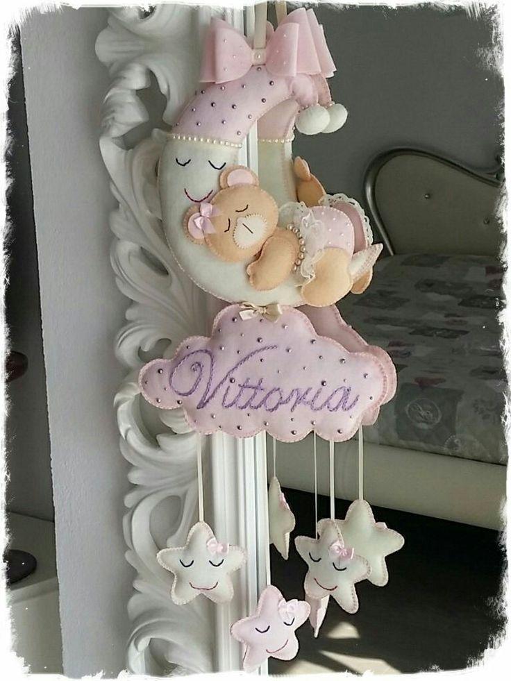 Fiocco nascita handmade - idee x hobby