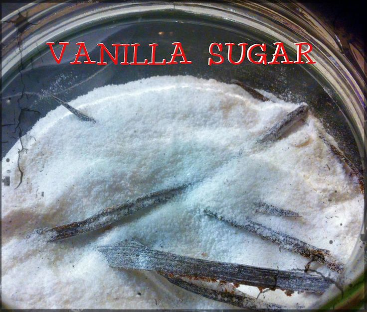 Make your own Vanilla Sugar! Check out our video. Expand the pin!