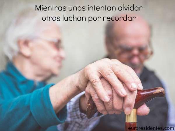Mientras unos intentan olvidar, otros luchan por recordar #Alzheimer