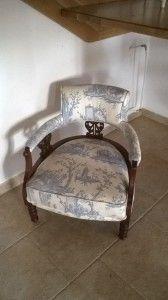 Wiktoriański fotelik .