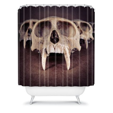 DENY Designs Home Accessories | Ballack Art House Theories Of Early Man Shower Curtain