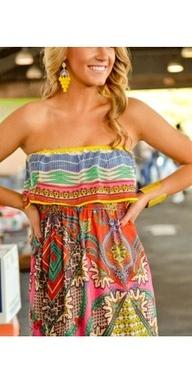 Perfect for summer.: Maxi Dresses, Summer Dresses, Style, Cute Dresses, Summer Outfits, The Dresses, Summer Colors, Summer Clothing, Bright Colors