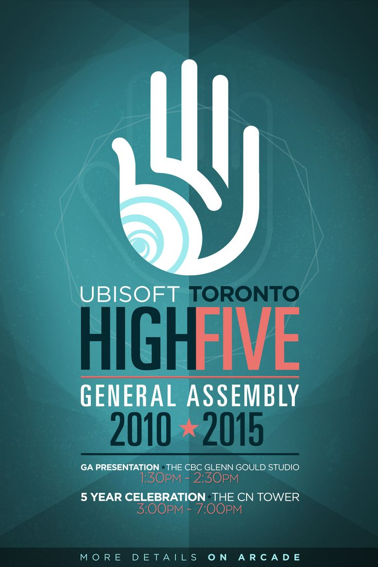Poster design 2015 - High Five Ga 2015 Poster