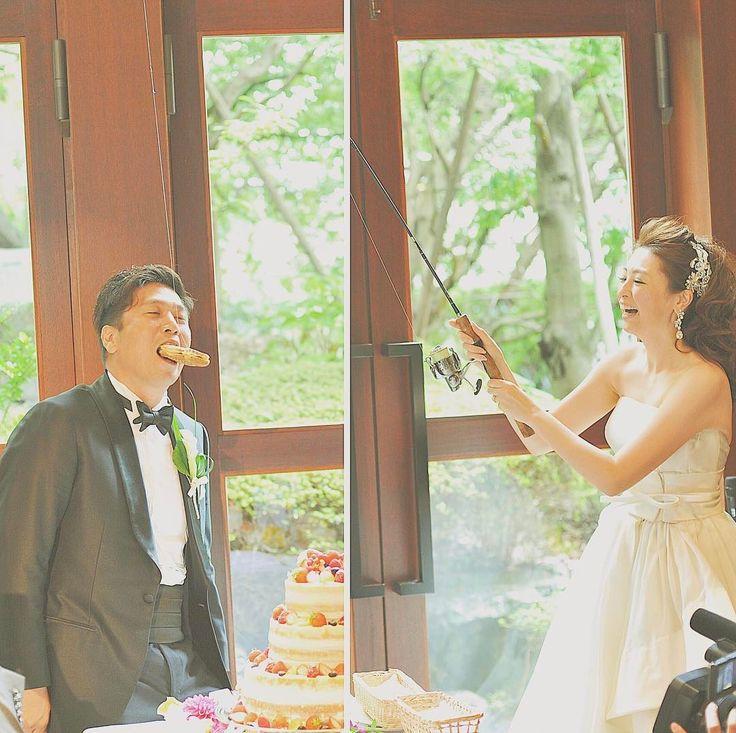 披露宴ファーストバイトで使いたいオモシロ道具10選 | marry[マリー]