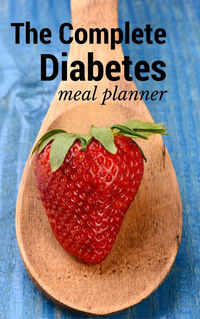 Easy Diabetes Diet Plans and Menus | Reduce blood sugar ...