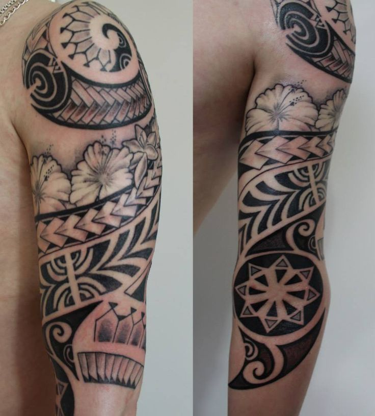 Robbie Williams Maori Tattoo Design: Maori ,polynesian, Sleeve, Flowers, Tattoo, Https://www
