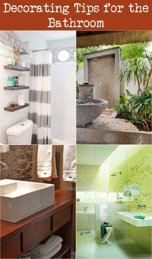 Decorating Tips For The Bathroom Decorating Bathrooms Bathroom