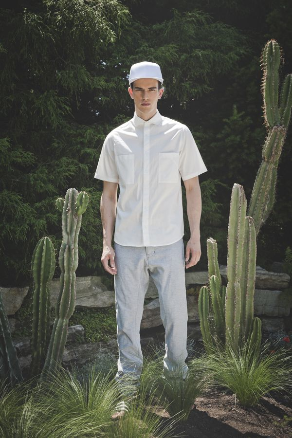 Of sharks and Men SS2015 Lewis shirt Henzo pants