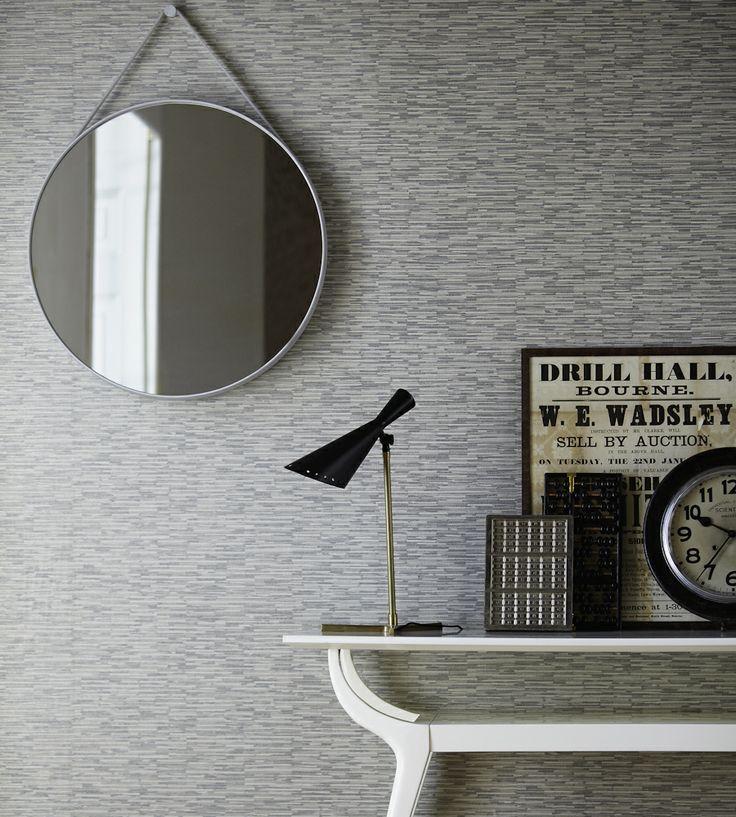 Greys | Flint Wallpaper by Harlequin | Jane Clayton