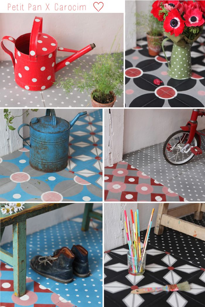 113 best images about carreaux de ciment tiles on for Carrelage sol interieur villeroy et boch