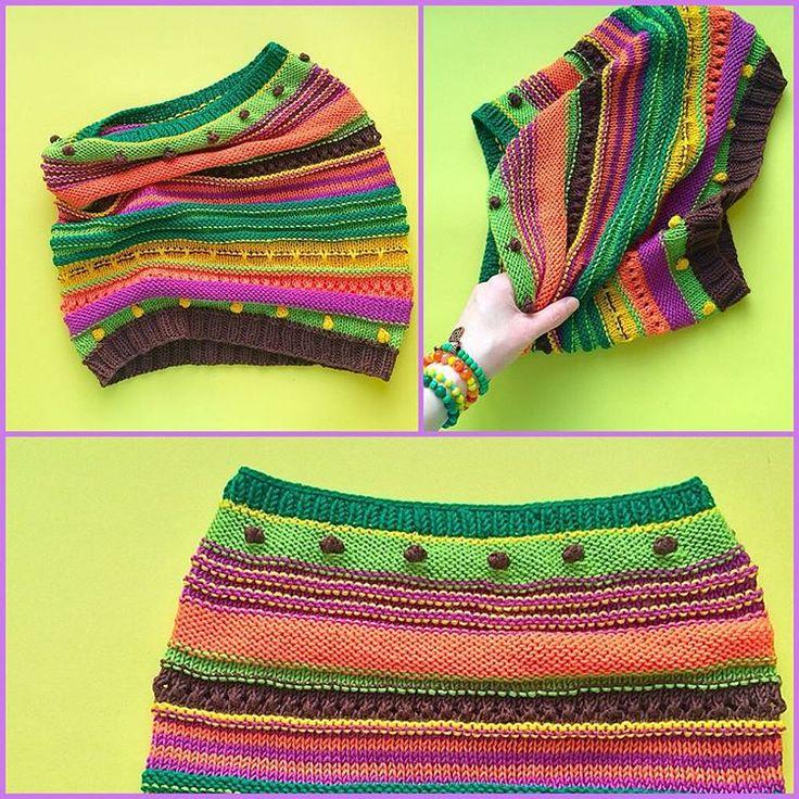 Сегодня пусть снятся зеленые сны ... #вяжутнетолькобабушки #knitting #вязание #связанослюбовью #снуд #хэндмейд