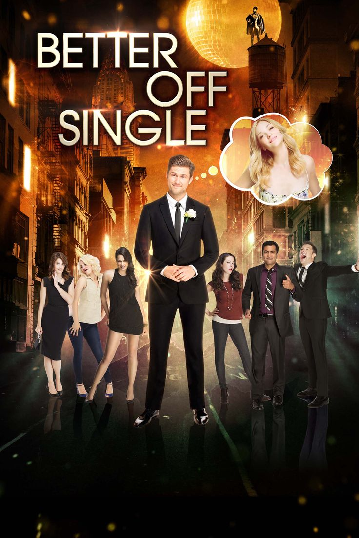 Better Off Single Movie Poster - Aaron Tveit, Abby Elliott, Lauren Miller Rogen  #BetterOffSingle, #AaronTveit, #AbbyElliott, #LaurenMillerRogen, #BenjaminCox, #Comedy, #Art, #Film, #Movie, #Poster