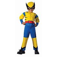 Marvel Boys Wolverine Halloween Costume - Toddler Size 2T/4T