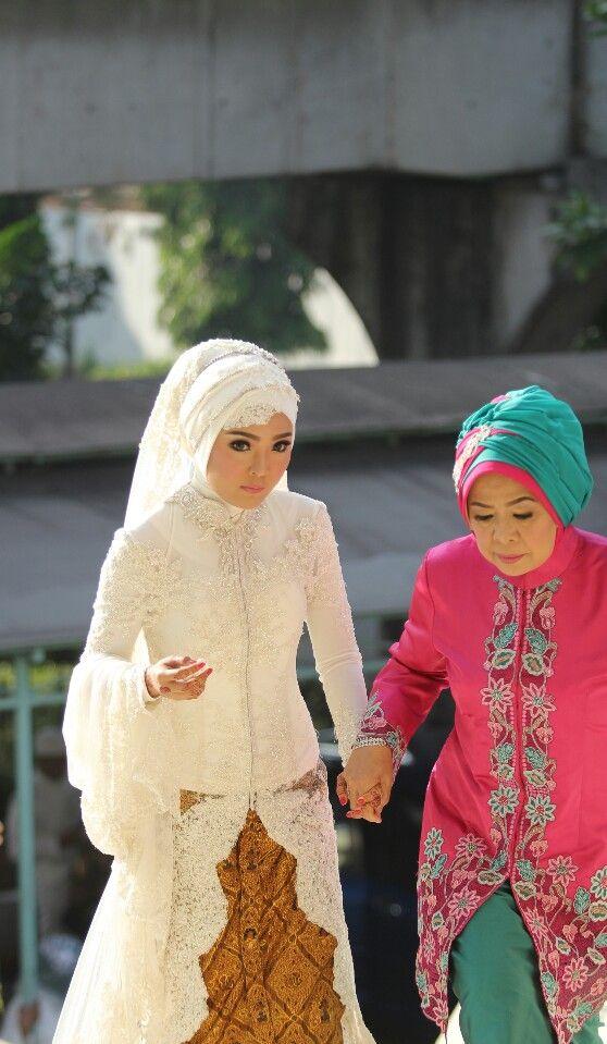 Hi mom #akadnikah #hijabwedding #kebaya