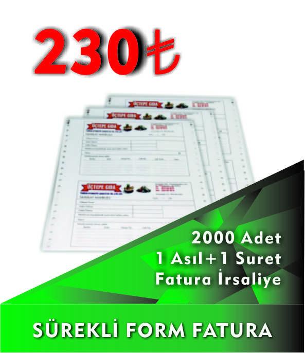 Sürekli Form Fatura Baskı Fiyatları