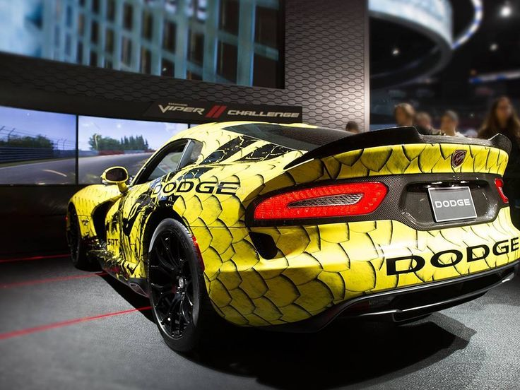 Great Check Out That Snake Skin. #Dodge #Viper #DodgeViper #CarsofInstagram  #CarGram Great Pictures