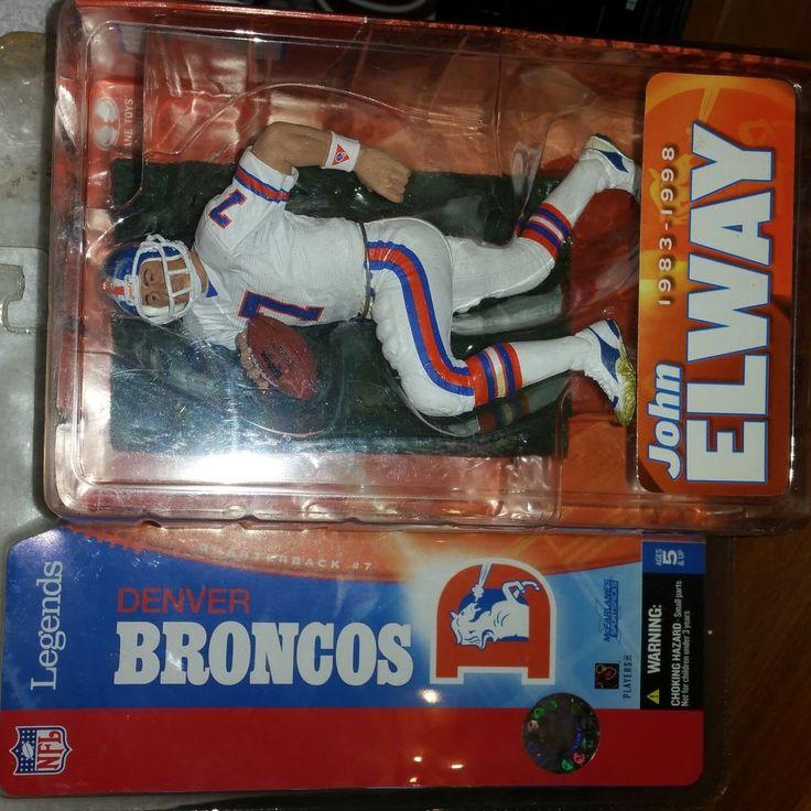 John elway legend white mcfarlane broncos stuff i want for John elway motors denver co