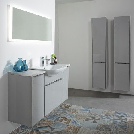 Vetro Grey Fitted Bathroom Furniture Roper Rhodes