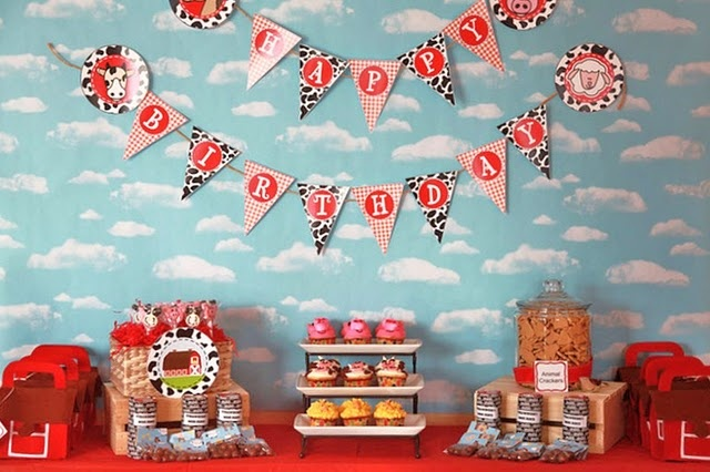 Like the ideas for a farm birthday party