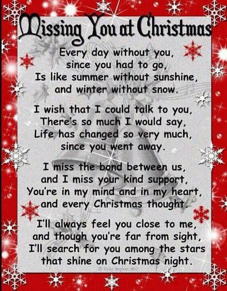Missing Someone At Christmas Quotes: Parents In Heaven Quotes. QuotesGram