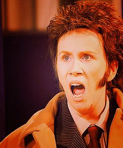 """Catherine Tate as Ten - I think this picture broke my brain."" ^agreed. very, very agreed. ^ :) x"