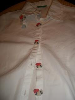 La borsa di Mary Poppins: bottoni hello kitty