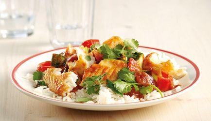 Thaise Tilapiafilet Met Curry En Rijst recept | Smulweb.nl