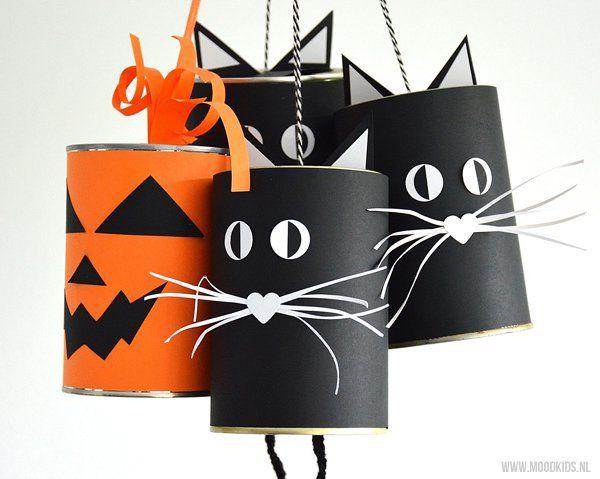 Kattenbellen knutselen voor Halloween - Moodkids   Moodkids