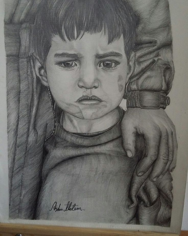 قلبي حزين كطفل تهجر من بيته واجبر على ترك احبائه خلفة