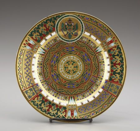 A RUSSIAN IMPERIALPORCELAIN PLATE. Kornilov Brothers St. Petersburg 1900 & 97 best Rare Russian porcelain images on Pinterest   China porcelain ...
