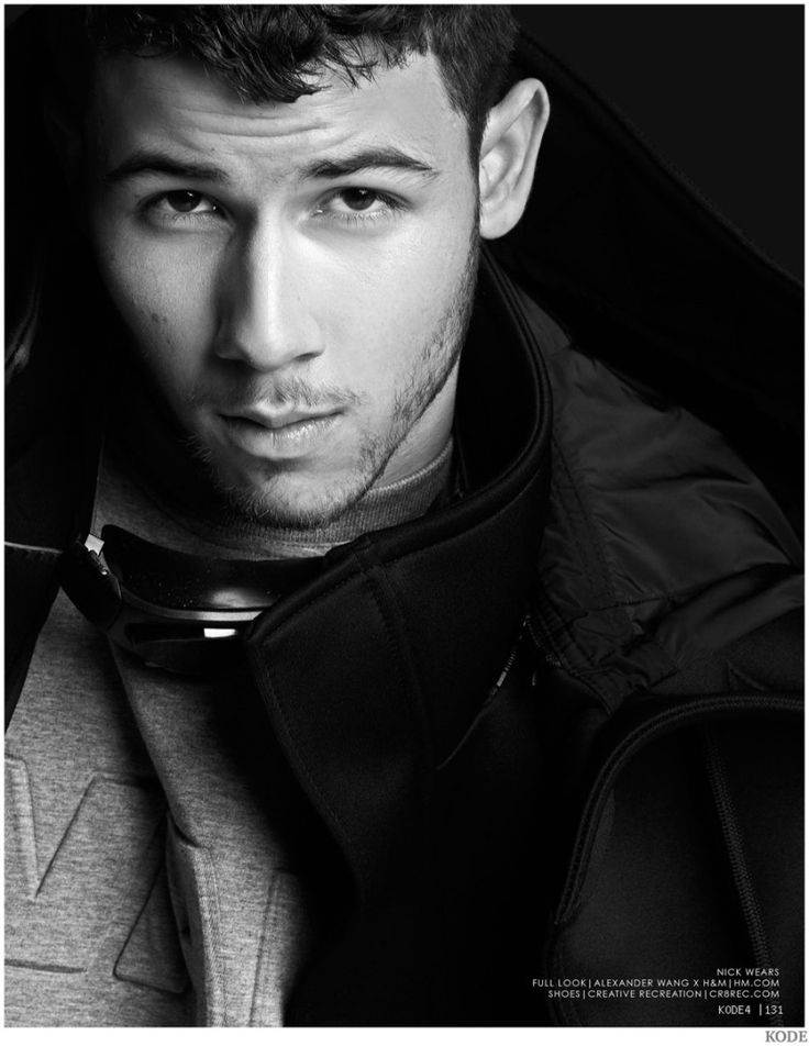 Nick Jonas Models Black Wardrobe for Kode Cover Shoot image Nick Jonas 2014 Kode Photo Shoot 005 800x1035
